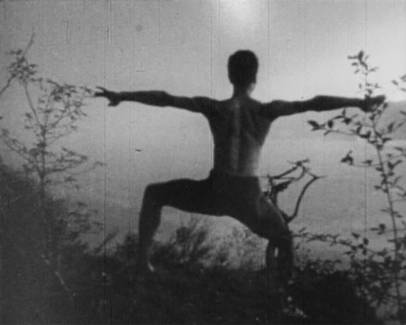 Maya Deren A Study in Choreography for Camera 1945 Single-channel video projection (16mm film transferred to DVD, b/w, no sound) 3 min. Loop